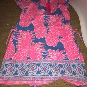 Lilly Pulitzer Pants - Lilly Pulitzer size 4 Blanca stretch romper NWT